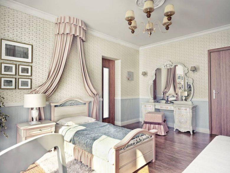 mały pokój dla rodzeństwa w domu