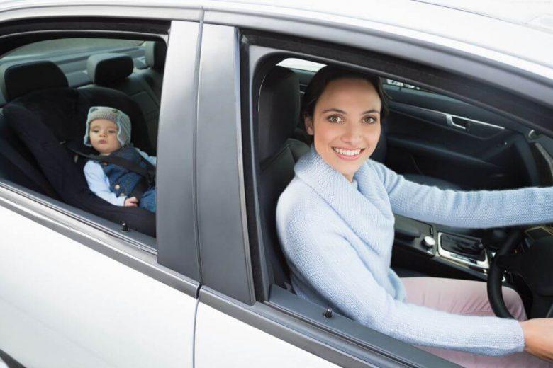 podróż samochodem z niemowlakiem