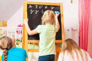 nauka angielskiego dla dzieci w domu